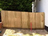 Exeter Fencing in Gardens in and around the Exeter area