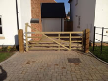 Commercial Fencing Project in Exeter - Exeter Commercial Fencing