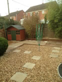 New Garden Fencing and Landscaping in Exeter, Devon