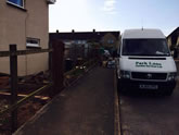 New Featheredge fencing Installed in Broadclyst Exeter