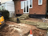 New Garden fencing and garden landscaped in Exeter