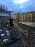 New garden fencing installed and constructed in Exeter